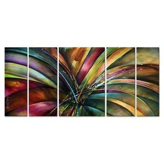 Michael Lang 'Lily's Song' Metal Wall Art