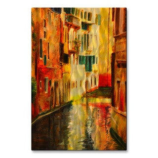 James Corwin 'Colored Walls Venice' Metal Wall Art