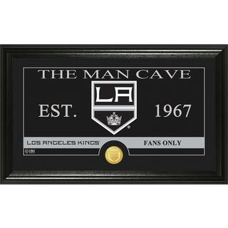 "Los Angeles Kings ""Man Cave"" Panoramic Bronze Coin Photo Mint"