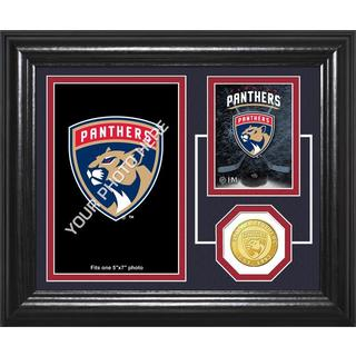 "Florida Panthers ""Fan Memories"" Bronze Coin Desktop Photo Mint"