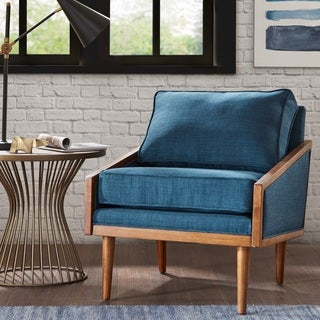 Clooney Blue Lounge Chair