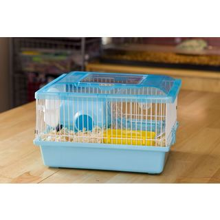 Iris USA Blue Small Hamster Cage