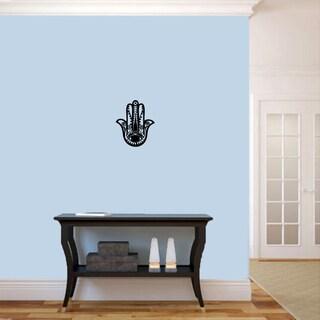 """Hamsa Hand Wall Decal (10"""" x 12"""")"""