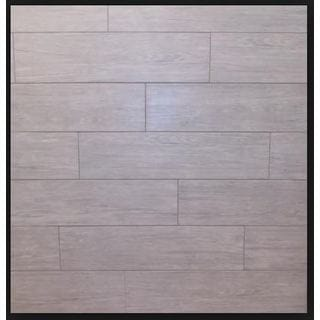 Black Label Living 6X24 Forest Light Gray Porcelain Floor and Wall Tile (Case of 13/ 12.92 SFT.)