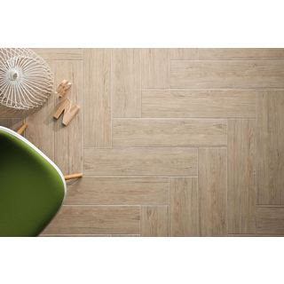 Black Label Living 6X24 Forest Capucino Porcelain Floor and Wall Tile (Case of 13/ 12.92 SFT.)