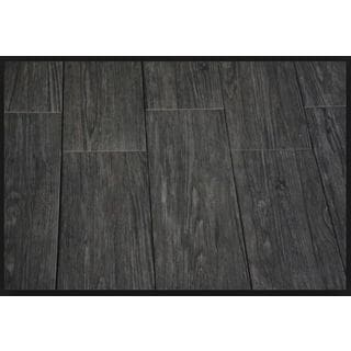 Black Label Living 6X24 Forest Black Porcelain Floor and Wall Tile (Case of 13/ 12.92 SFT.)