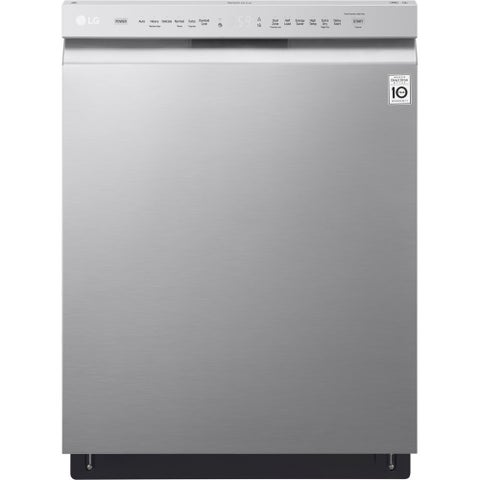 LG LDF5545ST Stainless Steel Dishwasher, EasyRack, 48dB