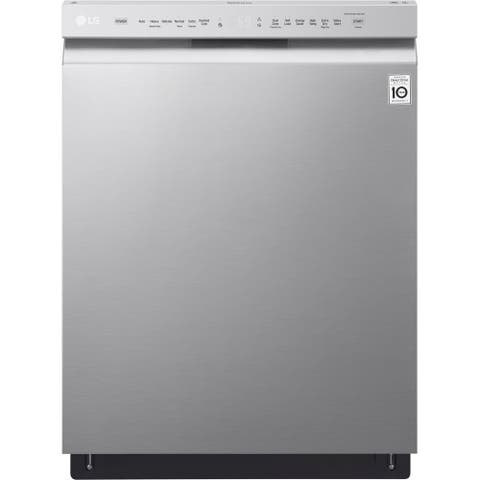 LG LDF5545ST Front Control Dishwasher with QuadWash and EasyRack Plus in Stainless Steel - Stainless Steel