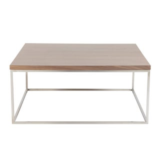 Teresa American Walnut Veneer Square Coffee Table