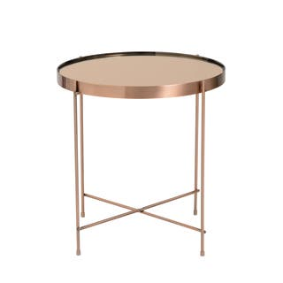Copper Finish Coffee Console Sofa Amp End Tables For Less