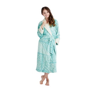 INK+IVY Batik Wrap Robe