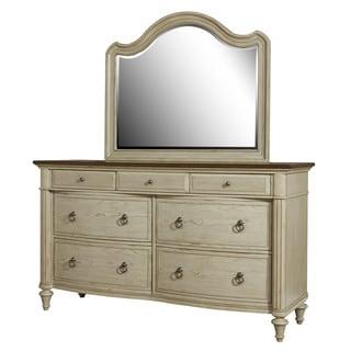 Riverside Wood Dresser and Mirror Set
