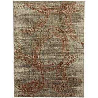 Mohawk Metropolitan Amora Ginger Area Rug (5'3 x 7'10)