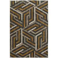 Mohawk Home Metropolitan Aster Mustard Area Rug (5'3 x 7'10) - 5'3  x  7'10