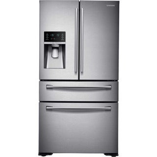 Samsung/RF30KMEDBSR - Stainless 30 Cu.Ft. 4 Door Refrigerator