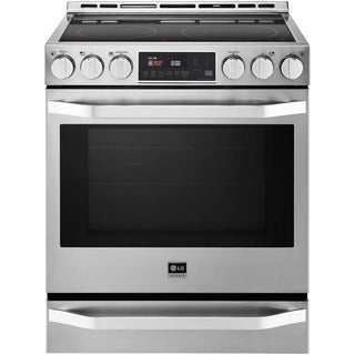 LG LSSE3026ST- 6.2 cu. ft. 30-inch Electric Slide-in Range