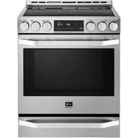 LG LSSE3026ST- 6.2 cu. ft. 30-inch Electric Slide-in Range - Stainless Steel