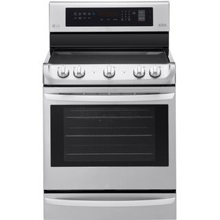 LG LRE4213ST- 6.3 cu ft. Single Electric Range, w/ProBake Convection