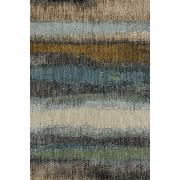 Shop Mohawk Home Muse Odin Gun Metal Area Rug 5 3 X 7 10