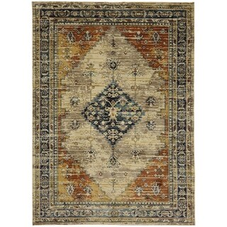 Mohawk Providence Parlin Berry Area Rug (5'3 x 7'10)