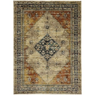 Mohawk Home Providence Parlin Berry Area Rug (5'3 x 7'10) - 5'3 x 7'10