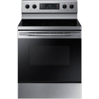 Samsung NE59K3310SS - Stainless Steel 30-inch Electric Range w/5.9 Cu.Ft. STSS Edge Design