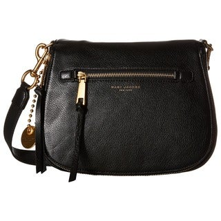 Marc Jacobs Recruit Black Saddlebag
