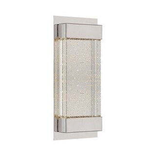 WAC Lighting Mythical Silvertone and Beige Aluminum and Glass LED Wall Sconce (3 options available)