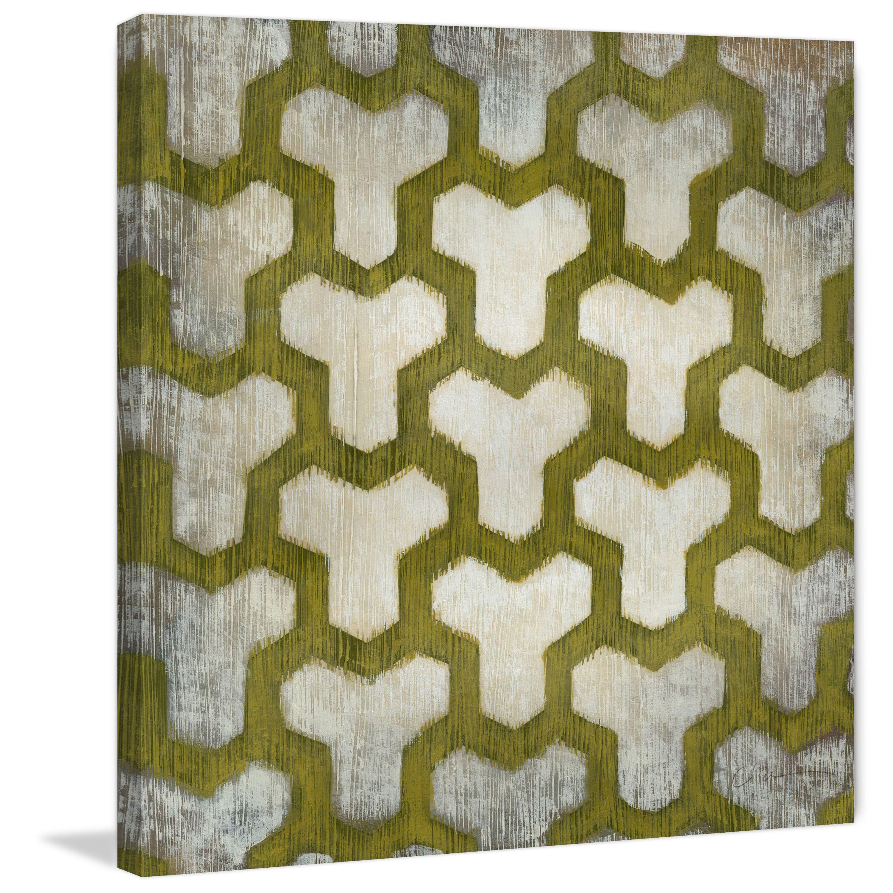 Marmont Hill Handmade Spectrum Symmetry Iv Print On Wrapped Canvas Overstock 13029259