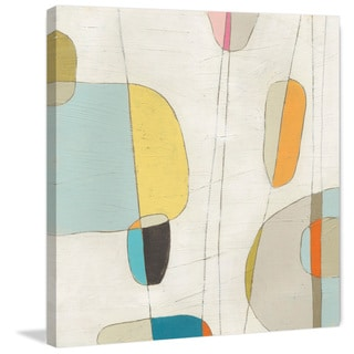 Marmont Hill - 'Molecular Motion I' Painting Print on Wrapped Canvas