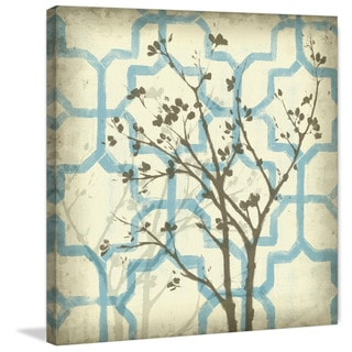 Marmont Hill - 'Silhouette & Pattern II' Painting Print on Wrapped Canvas