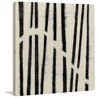 Marmont Hill - 'Hieroglyph VI' Painting Print on Wrapped Canvas