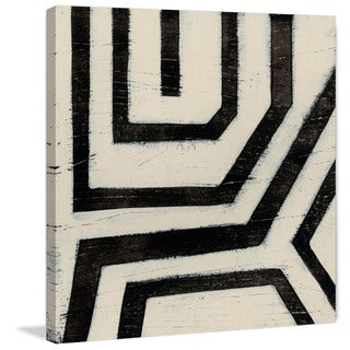 Marmont Hill - 'Hieroglyph VIII' Painting Print on Wrapped Canvas