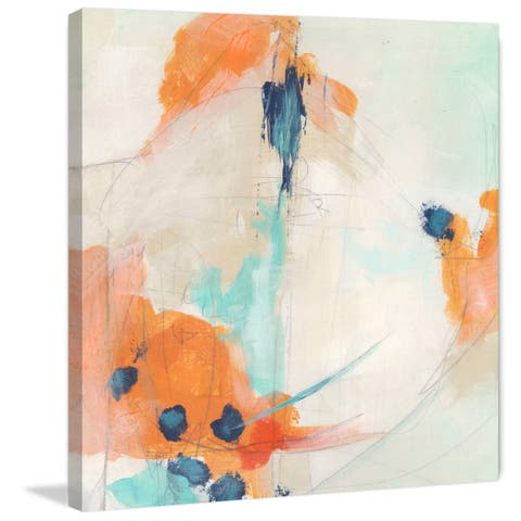Marmont Hill - Handmade Plot Point II Print on Wrapped Canvas