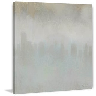 Marmont Hill - 'Grey Mist' by Rick Novak Painting Print on Wrapped Canvas