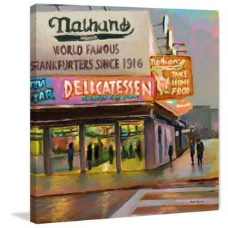 Marmont Hill - 'Nathans' by Rick Novak Painting Print on Wrapped Canvas