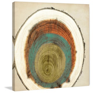 Marmont Hill - 'Expanding Rings' Painting Print on Wrapped Canvas