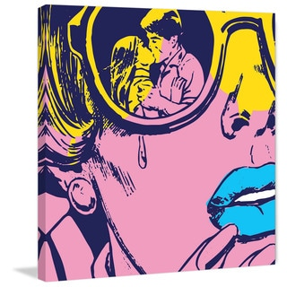 Marmont Hill - 'Lost Love' by Josh Ruggs Painting Print on Wrapped Canvas