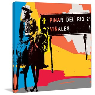 Marmont Hill - 'Pinar Del Rio II' by Josh Ruggs Painting Print on Wrapped Canvas