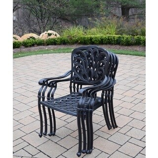 Stackable Dining Chairs (4 Pack)
