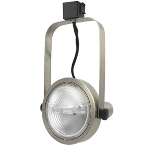 Lithonia Lighting LTH1000 PAR38 BN M24 Brushed Nickel 1-light Rear Loading Gimbal Commercial Track Head