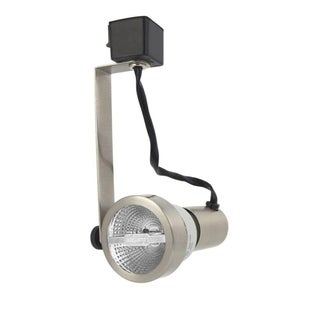 Lithonia Lighting Silver Metal 1-Light Rear-loading Gimbal Commercial Track Head