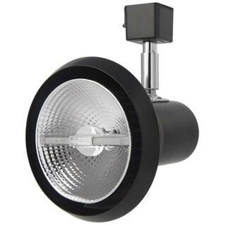 Lithonia Lighting LTH SHDE PAR30 DBL M24 Black 1-light Front Loading Shade Commercial Track Head