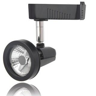 Lithonia Lighting Black Aluminum 1-light Front-loading Commercial Track Head Light