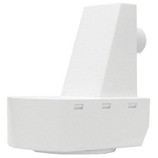 Lithonia Lighting LSXR 610 HL White Plastic Fixture Mount Sensor with 360-degree High/Low Mount Lenses