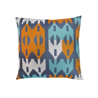 Corvus Multicolor Polyester 18-inch Square Pillows (Set of 2)