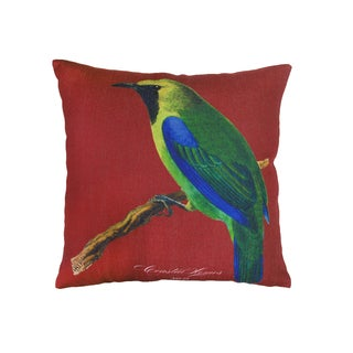 Corvus Multicolored Polyester 18-inch Square Pillows (Set of 2)