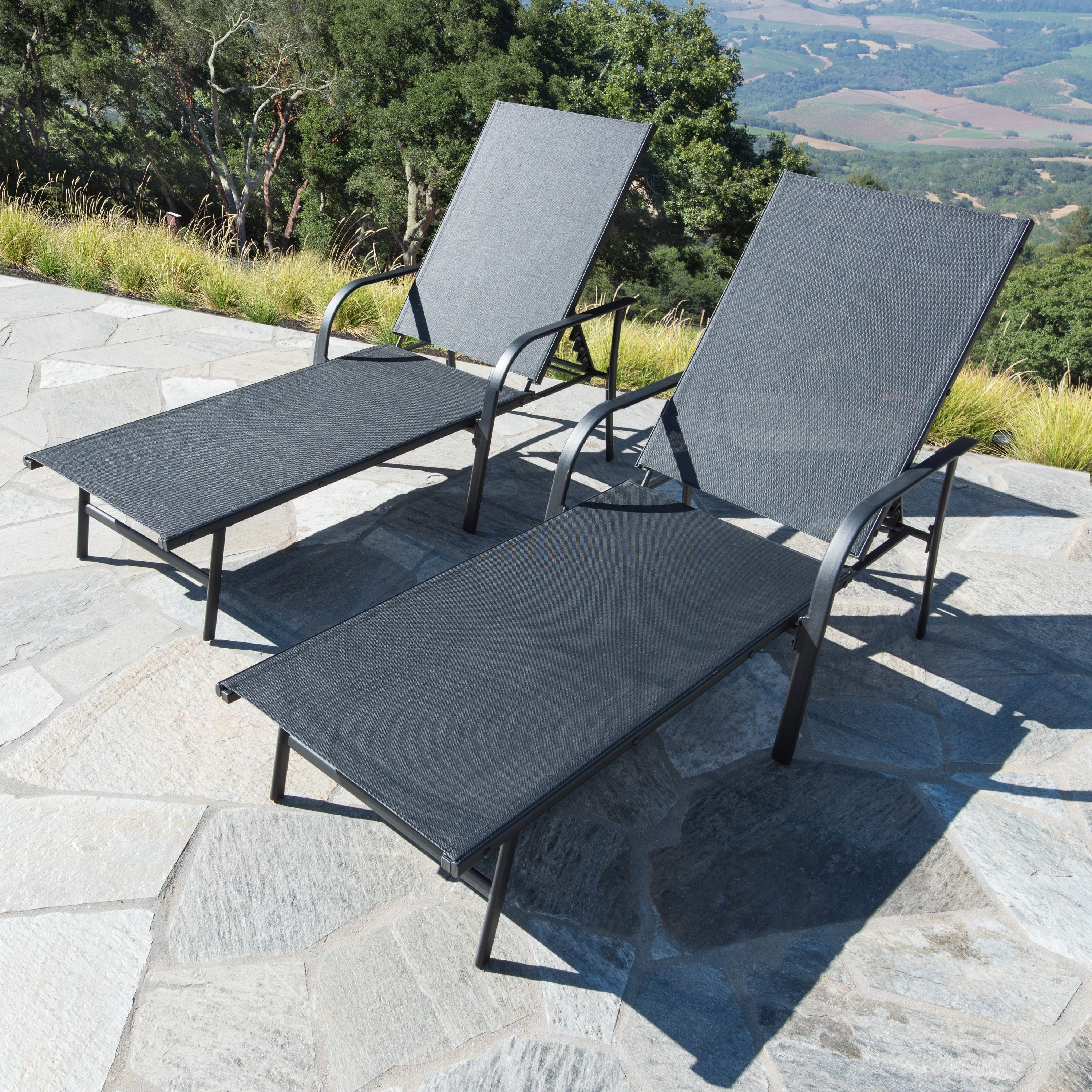 buy outdoor chaise lounges online at overstock our best patio furniture deals. Black Bedroom Furniture Sets. Home Design Ideas