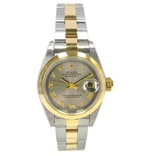 Pre-owned 26mm Rolex Two-tone Datejust Watch
