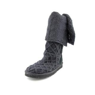 Ugg Australia Women's Lattice Cardy Black Regular Suede Boots
